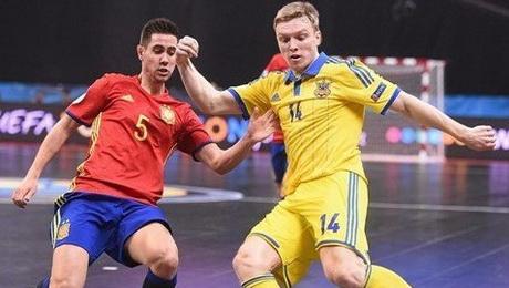 Украина и Испания сыграли вничью