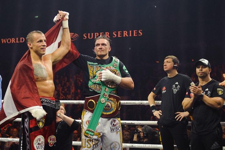 первый тяжелый вес, Александр Усик, WBC, Маирис Бриедис, WBO