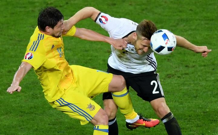 Сборная Украины по футболу, Сборная Германии по футболу, Евро-2016