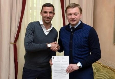 Официально: Срна подписал новый контракт с Шахтёром