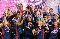Лион жен, Лига чемпионов жен, фото, Вольфсбург, видео, Лион