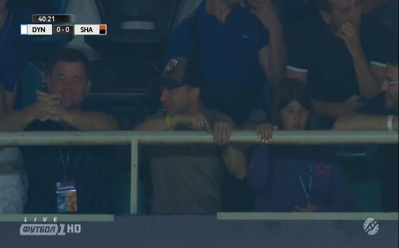 Президент України відвідав матч за Суперкубок - изображение 1