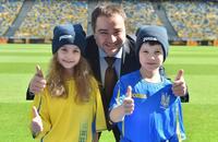 ФФУ, сборная Украины, Андрей Павелко, игровая форма