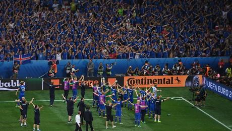 болельщики, видео, сборная Исландии, Евро-2016