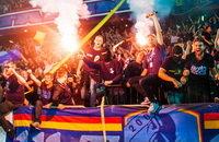 Лига Европы УЕФА, Юргорден, Мариуполь, стадион Черноморец, болельщики