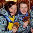 Вита Семеренко, Валентина Семеренко, сборная Украины жен, Елена Пидгрушная, Юлия Джима