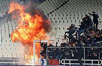 АЕК, происшествия, высшая лига Греция, Лига чемпионов УЕФА, Панатинаикос, Аякс
