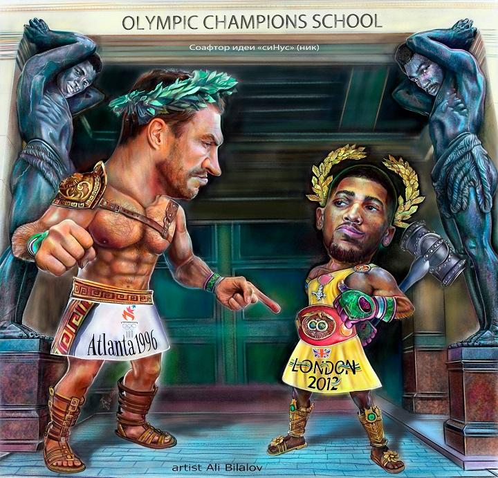 Британский боксер победил Владимира Кличко