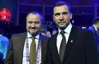 Андрей Павелко, Андрей Шевченко, Сборная Украины по футболу