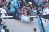 происшествия, высшая лига Аргентина, болельщики, Бельграно, Тальерес