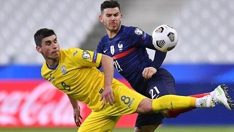 квалификация ЧМ-2022, Сборная Украины по футболу, Сборная Франции по футболу