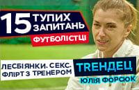женский футбол, Юлия Форсюк, видео, Трендец, телевидение