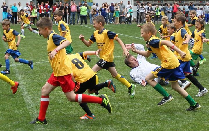 Александр Шовковский, детский футбол, Динамо Киев, фото