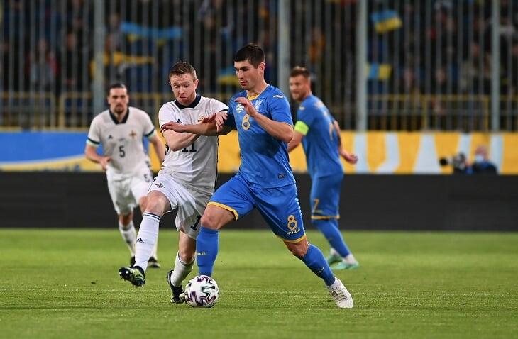 Сборная Украины по футболу, сборная Северной Ирландии по футболу, товарищеские матчи (сборные)