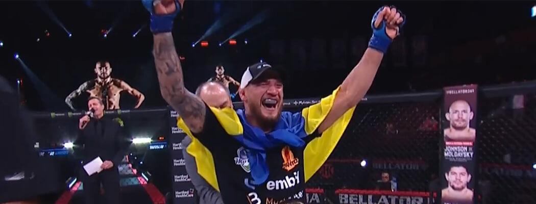 Амосов – первый украинский чемпион Bellator! Не дал шансов Лиме ни в одном из раундов