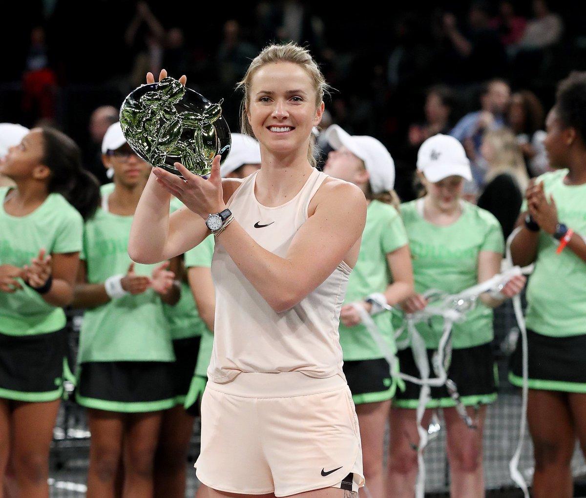 Свитолина стала чемпионкой выставочного турнира вНью-Йорке