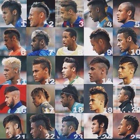 Все причёски неймара