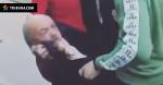 Английские фаны положили в мусорку россиянина, похожего на Ленина