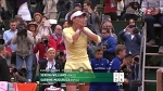 Roland-Garros dans la poche de Muguruza après un lob parfait