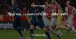 Прогноз на матч «ПСЖ» - «Монако»
