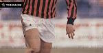Паоло Мальдіні в дебютному матчі за Мілан