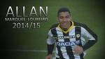 ►Allan◄ Goals Assists Skills Dribbling Passes ● Udinese ● 2014/15 ● HD