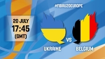 Ukraine v Belgium - Live - R16 - FIBA U20 European Championship 2016