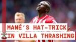 CLASSIC MATCH | Sadio Mané scores fastest Premier League hat-trick