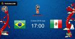 Прогноз на матчи ЧМ-2018 Бразилия – Мексика и Бельгия - Япония