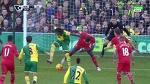 Dieumerci Mbokani Back Heel Goal ~ Norwich City vs Liverpool 1-1 ~ 23/1/2016 [Premier League]