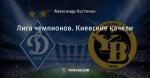 Лига чемпионов. Киевские качели