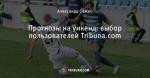 Прогнозы на уикенд: выбор пользователей Tribuna.com