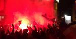 Фанати «Сампи» підтримали команду напередодні дербі
