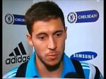 "Eden Hazard: ""I was on the bench for the game against strawberry"""