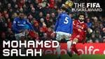 #puskasaward MOHAMED SALAH GOAL – WINNER