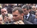 Слёзы Шевченко на похоронах Чезаре Мальдини