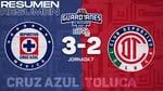 Resumen y goles   Cruz Azul 3-2 Toluca   Torneo Guard1anes 2021 BBVA MX J7   TUDN