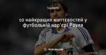 10 найкращих миттєвостей у футбольній кар'єрі Рауля