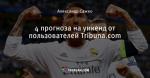 4 прогноза на уикенд от пользователей Tribuna.com