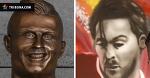 Что круче: граффити Милевского или памятники Роналду?