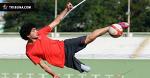 Барыш Тели творит с мячем нечто невероятное. Он потерял ногу в 4 года
