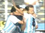 Argentina v Brazil Goal Caniggia 1990