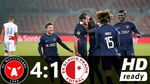 FC Midtjylland vs Slavia Praha 4:1 Highlights - CL Qualifiers - 30.09.2020