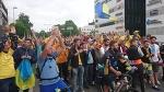 Фінляндія-Україна, хода на стадіон. Тампере, 10.06.2017